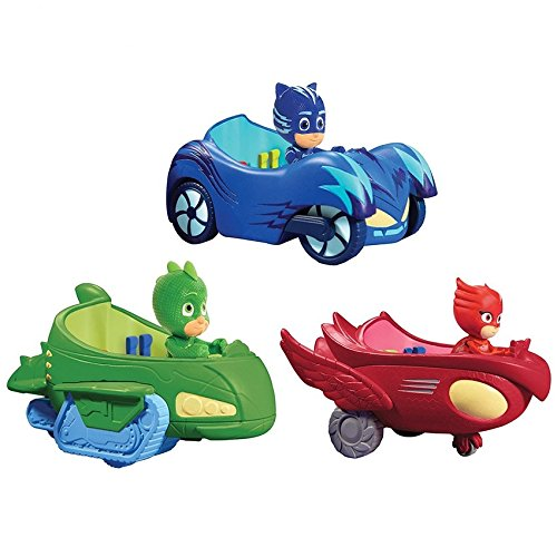 PJ Masks juguetes de los coches y figuras Figura popular de la historieta juega - PJ Masks Toys Cars and Figures Popular Cartoon Figure Toys