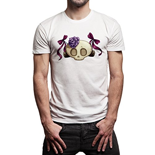 Skull Teen One Herren T-Shirt Weiß