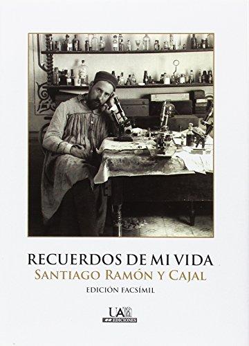 RECUERDOS DE MI VIDA. (Fuera de colección) por SANTIAGO RAMóN Y CAJAL
