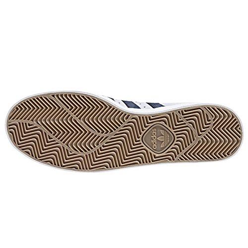 Adidas Skateboarding Herren Sneaker SUPERSTAR VULC ADV - CRYWHT/CONAVY/FTWWHT crystal white-collegiate navy-ftwr white