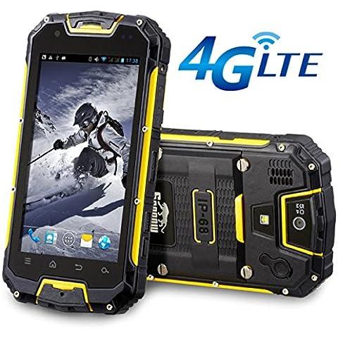 Snopow 4G LTE Tri-proof IP68impermeabile antiurto robusto custodia smartphone con