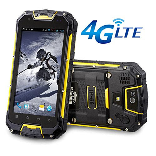 Snopow 4 G LTE IP68 tri-proof impermeabile antiurto robusto mobile smartphone con ppt walkie talkie