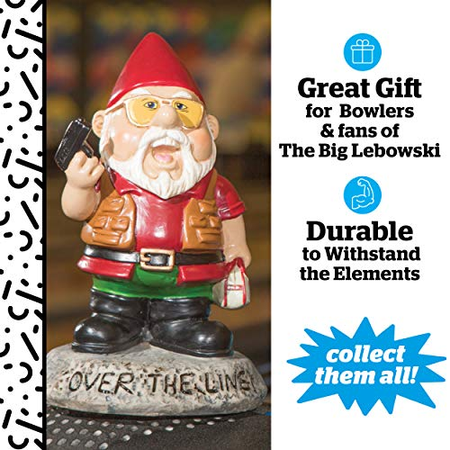 "Bigmouth INC ""Over the Line."" Garden Gnome Statuen - 3"