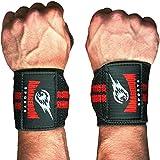 Handgelenkbandage [2er Set] Wrist Wraps 30 cm - Bandagen für Kraftsport, Bodybuilding,...