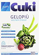 Cuki-Bolsas Congelación gelopiù, tamaño normal (18x 28cm)-30piezas
