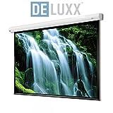 Deluxx 39410 Advanced Cyber Polaro 21:9, 332 x 141 cm, Motorleinwand Exclusive Series weiß