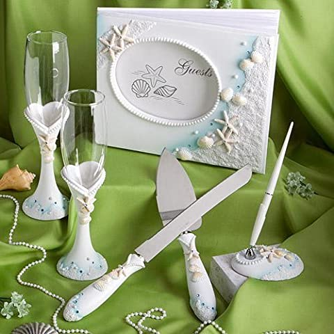 Finishing Touches Collection Of Beach Themed Wedding Day Accessories by Fashioncraft