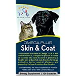 The Petcare Factory Omega Plus Skin & Coat Supplement For Dogs and Cats, Triple Action Omega 3, 6 & 9 With Added Vitamin… 15