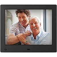 NIX Advance - Cadre photo numérique 20.3 cm (8 pouces) et vidéo HD (720p) avec capteur de mouvement - X08E