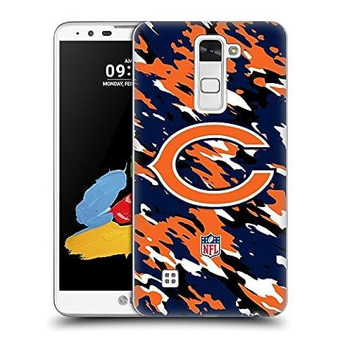 Official NFL Camou Chicago Bears Logo Hard Back Case for LG Stylus 2