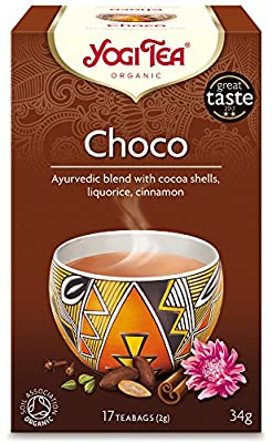 Yogi tea Thé Bio Chocolat 31 g - Pack de 6