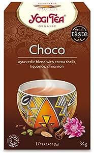Yogi Tea Choco Tea 17 Teabags (Pack of 6, Total 102 Teabags)