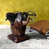 Store Indya, Klassische Hand geschnitzte Palisander Elefant geformter Brille Spectacle Inhaber stehen Geschenke fur Sie oder Ihn