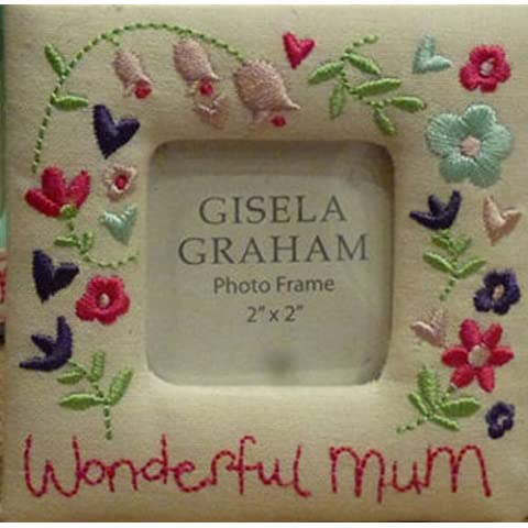 Gisela Graham-Cornice per foto in tessuto-Wonderful ricamato