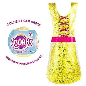 TOMY L85013 - Vestido de Princesa, Color Amarillo y Fucsia
