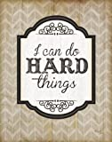 I Can Do Hard Things von Jennifer Pugh Kunstdruck