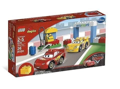 LEGO DUPLO Cars - 6133 - Jouet de Premier Âge - La Grande Course