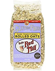 Bobs Red Mill Pure Rolled Oats, 400 g