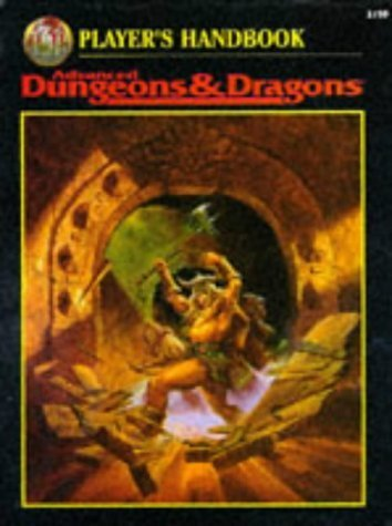 Player's Handbook Advanced Dungeons & Dragons (2nd Ed Fantasy Roleplaying) 2nd edition by Cook, David Zeb (1995) Hardcover