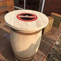 In solido legno di quercia con Whisky riciclata, motivo