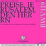 Kantate zur Ratswahl, BWV 119 'Preise, Jerusalem, den Herrn': IV. Rezitativ. 'So herrlich stehst du, liebe Stadt' (Bass)