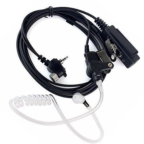 Buwico® Schallschlauch für Mikrofone, Push-to-Talk, Headsets, 1Pin, für Walkie-Talkie, Motorola-Funkgeräte MTH600MTH650MTH800/MTP850MTS850 (Zwei-wege-radio-headset)