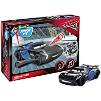 Revell Cars 3 Jackson Storm Junior Kit RC, Colore Nero, RV00861