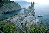 Poster 60 x 40 cm: Neo-Gothic Castle, Yalta by Steve Raymer / National Geographic - high quality art print, new art poster