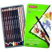 Derwent 0700211 Estudio L-piz Collection 12-Color Tin Set