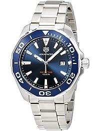 Tag Heuer Aquaracer Blau Zifferblatt Herren Armbanduhr way101C. ba0746