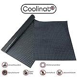 Coolinato® 2 Hochwertige Silikon Backmatten (38x30cm und 40x60cm) - Rutschfeste Dauerbackfolie für Backofen und als Backunterlage und Teigunterlage   Umweltfreundlich und Spülmaschinenfest
