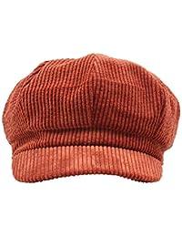 Amorar Femmes Béret Visière Chapeau Bonnet d\u0027hiver Cordon Gavroche Cabbie  Gatsby Peintre Chapeaux à