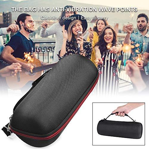 mildily Lautsprechertasche für JBL, stoßfeste drahtlose Bluetooth-Lautsprecher-Tragetasche, Mini-Subwoofer-Audioschutz für den Außenbereich für JBL LINK 20 10