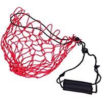 VORCOOL Tragbare Netztasche für Basketball/Fußball/Fußball/Fußball (rot)