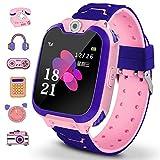 Winnes - Smartwatch per bambini con 7 giochi, funzione musica e sveglia, fotocamera, per 3 - 12 anni