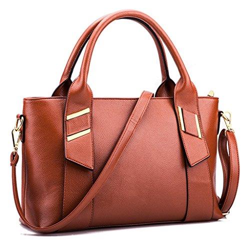 Keshi Pu neuer Stil Damen Handtaschen, Hobo-Bags, Schultertaschen, Beutel, Beuteltaschen, Trend-Bags, Velours, Veloursleder, Wildleder, Tasche Khaki