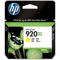 HP 920XL - Cartucho de tinta Original HP 920XL de álta capacidad Amarillo HP OfficeJet series 6000, 6500, 7000, 6500, 7500
