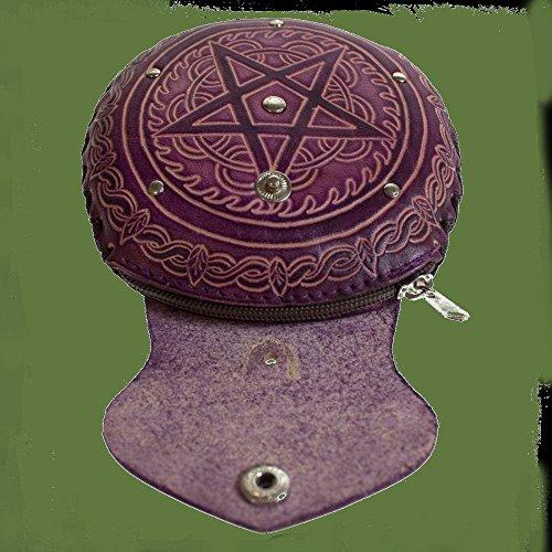 Dark Dreams Geldbörse Portemonnaie Geldkatze Geldbeutel Beutel Pentagramm Kelten Mittelalter Gothic - 3