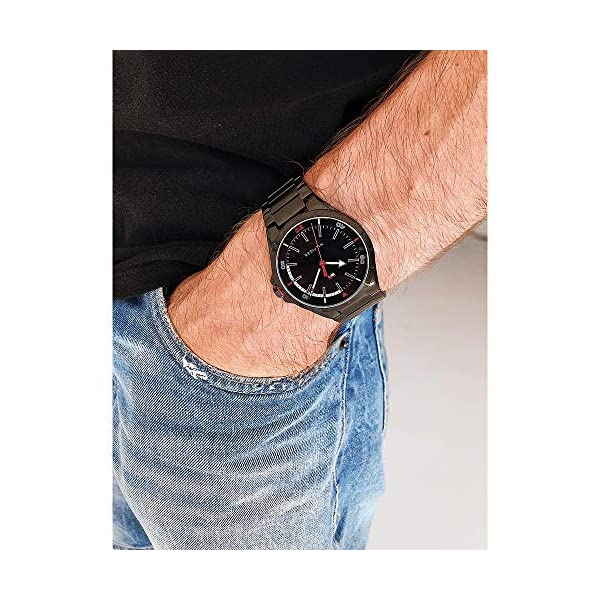 Tommy Hilfiger Reloj Analógico para Hombre de Cuarzo con Correa en Acero