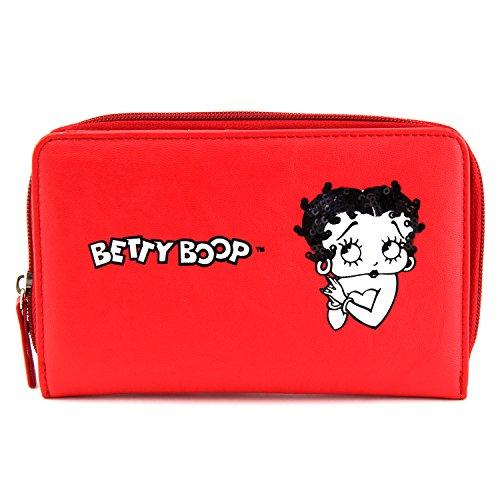 Betty Boop Münzbörse 11-0273, Rot
