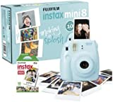 Instax Mini 8 Camera with 10 Shots - Blue