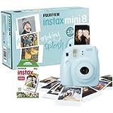 Fujifilm - Instax Mini 8 - Appareil Photo Instantané - Avec 10 Poses - Bleu
