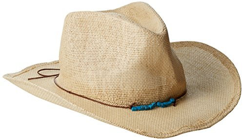 san-diego-hat-company-womens-cowboy-hat-with-cord-tie-and-tuqoise-trim-natural-one-size