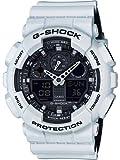 Casio G-Shock – Reloj Hombre Analógico/Digital con Correa de Resina – GA-100L-7AER