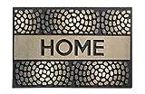 HMT 31800140Eco Master Home-Felpudo goma reciclada marrón 60x 40x 2cm