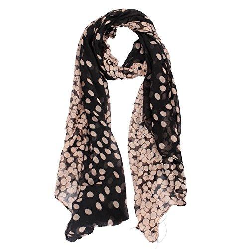 Malloom® Fashion Lady Womens Long Polka Dot Scarf Wraps Shawl Stole Soft Scarves