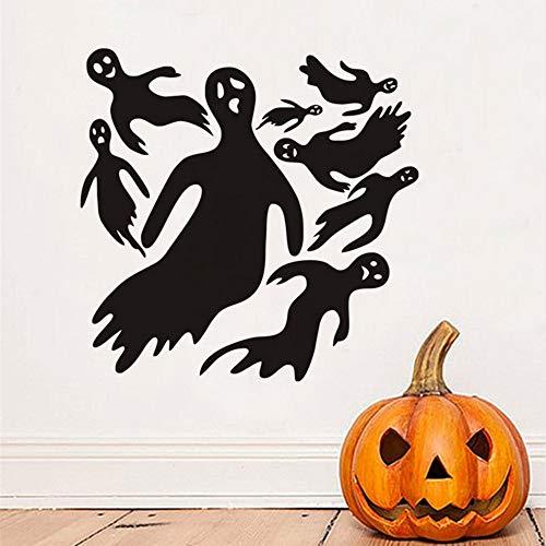 l Ghost Abnehmbare Wandaufkleber Halloween Dekoration Für Home Mural Art Diy Dekorative Abziehbilder Für Kinderzimmer ()