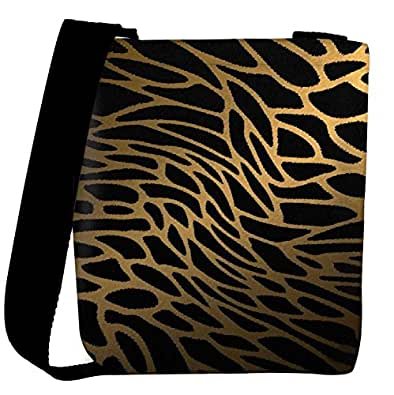 Snoogg Tiger Skin Womens Carry Around Cross Body Fashion Shopping Tote Handbag Shoulder Sling Bags