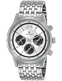 Titan Neo Analog Black Dial Men's Watch - 1766SM03