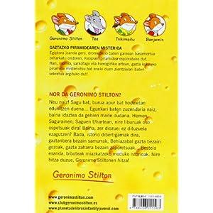 Gaztazko piramidearen misterioa: Geronimo Stilton Euskera 17 (Libros en euskera)